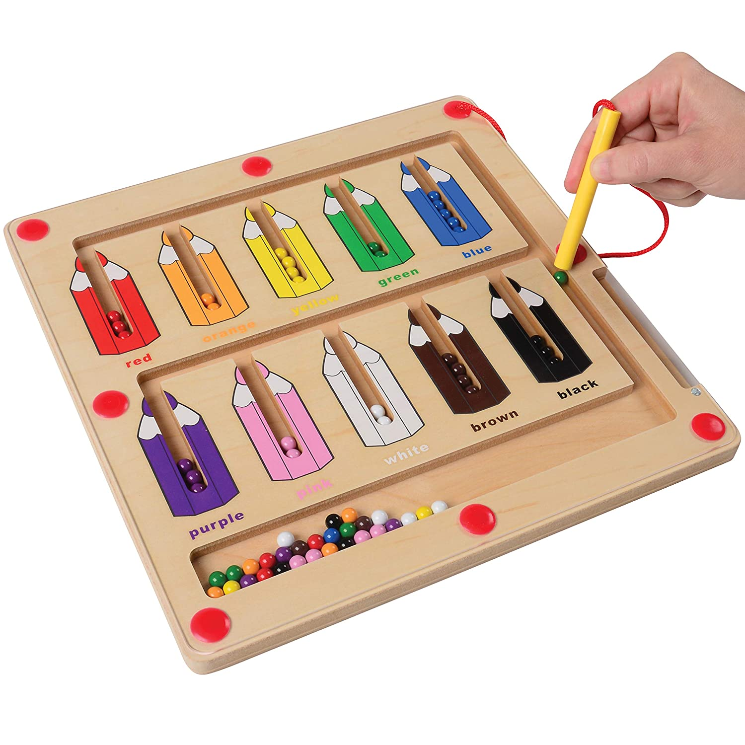 color sorting magnetic game color recognition