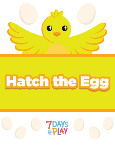 hatch the egg hand eye coordination printable activity worksheet for toddlers