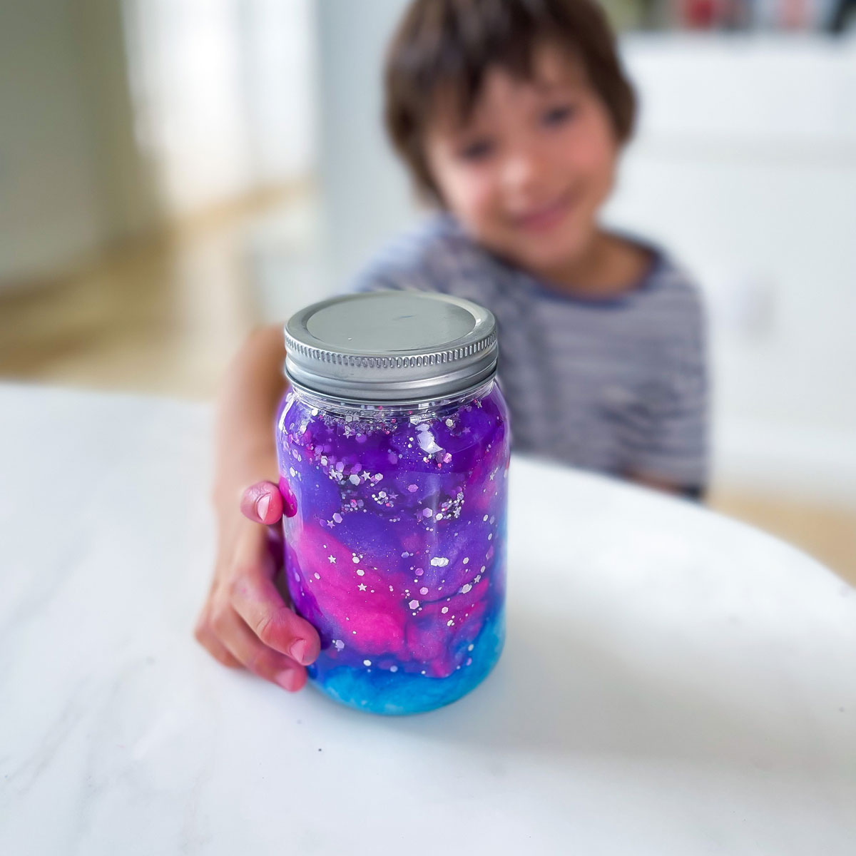 galaxy jar activity for kids space study