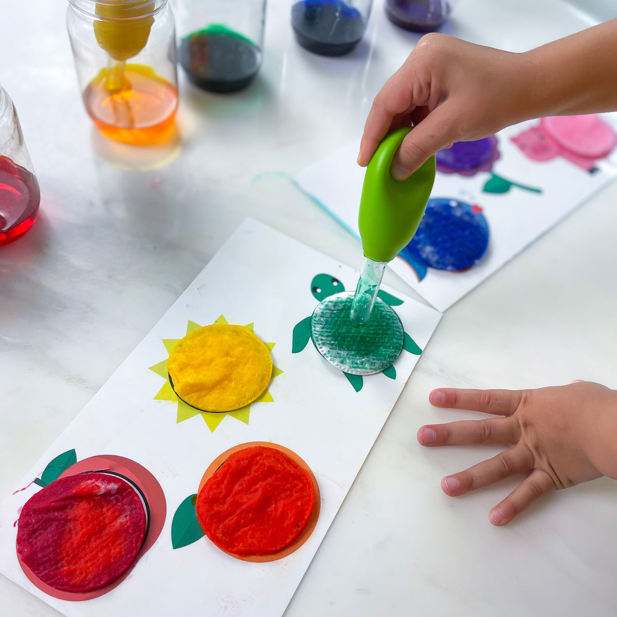 Teaching Colors to Toddlers – Make Cotton Vibrant