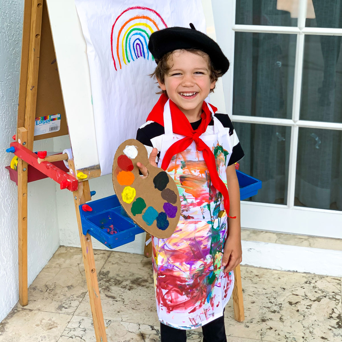DIY Artist Costume – Easy and Budget-Friendly Dress Up